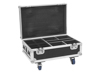 Roadinger Flightcase 4x AKKU IP UP-4 Plus HCL Spot WDMX with Charging Function