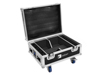 Flightcase 4x AKKU IP UP-4 QuickDMX with charging function