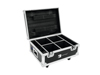 Flightcase 4x AKKU UP-4 QuickDMX with charging function