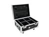 Roadinger Flightcase 4x AKKU UP-4 QuickDMX with charging function