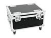 Roadinger Flightcase 4x LED IP PAR 12x12W HCL with wheels