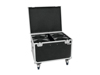 Roadinger Flightcase 4x LED THA-100F/THA-120PC with wheels