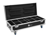 Flightcase 8x AKKU UP-4 QuickDMX with charging function