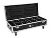 Roadinger Flightcase 8x AKKU UP-4 QuickDMX with charging function