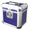 Record Case ALU 75/25, rounded, blue