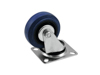 Swivel Castor 75mm blue
