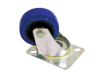 Swivel Castor 80mm blue