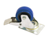 Swivel Castor 80mm blue with brake