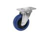 Swivel Castor RD-100 100mm blue