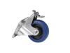 Roadinger Swivel Castor RD-100B 100mm blue with brake