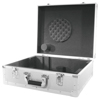 Turntable Case silver -S-