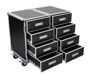 Universal Roadie Case Double Drawer DD-2