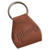 Gibson Premium Leather Pickholder Keychain | Brown