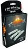 Hohner 572/20 Hot Metal ValuePack (C- G- A-major)