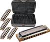 Hohner Blues Harp 5-Pack (C- D- E- G- A-major)