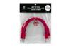 Eurorack patch cables 20cm 5 pcs red