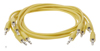 Erica Synths Eurorack patch cables 90cm 5 pcs yellow