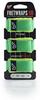 FretWraps HD Leaf String Muters 3-Pack Green L