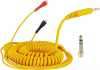 Spiral Cord DeLuxe for Sennheiser HD 25 - yellow