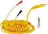Zomo Spiral Cord DeLuxe for Sennheiser HD 25 - yellow