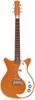 59 M NOS Plus Guitar Orange Metal Flake