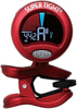 Clip-On Chromatic All instrument Tuner (Red)