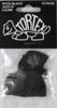 Dunlop 482P114 TORTEX Pitch Black Jazz III 12/PLYPK