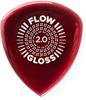 Dunlop Plekt. FLOW GLOSS 550P200 2.0mm-3/PLYPK