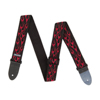Dunlop Strap D3811RD FLAMBE-RED-EA