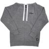 Gray Zip-Up Hoodie - Large