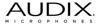 Audix ASSEM PCB M40 M55 M60 & M70  V4