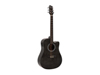Dimavery STW-90 Western Guitar, vintage black