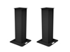 2x Stage Stand 150cm incl. Cover and Bag, black
