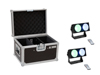 Set 2x LED CBB-2 COB RGB Bar + Case