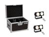 Set 2x LED CBB-2 COB WW Bar + Case