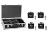 Set 4x LED TL-3 RGB+UV Trusslight + Case