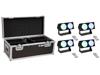 Set 4x LED CBB-2 COB RGB Bar + Case