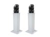 Set 2x Stage Stand 100cm + 2x LED TMH-60 MK2