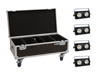 Set 4x Audience Blinder 2x100W LED COB WW + Case