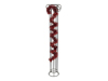 Tinsel metallic, red, 7,5x200cm