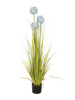 Allium grass, artificial plant, blue, 120 cm