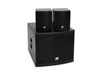 Set MOLLY-12A Subwoofer active + 2x MOLLY-6 Top 8 Ohm, black