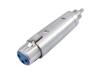 Omnitronic 3-pin XLR Fe > RCA Ma