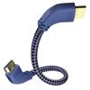 Premium HDMI Ethernet Angled 2m