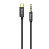 Baseus 3.5mm > USB-C 1.2m Black