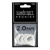 Ernie Ball EB-9202 2.0mm White Standard Prodigy Picks 6-pack
