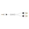 Real Cable Moniteur 3.5mm to 2 RCA 1.5m