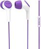 Koss Headphone KEB15i In ear Mic Pruple