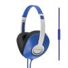 Koss Headphone UR23i Over Ear One Touch Mic Blue