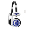 Headphone iPortaPro 2.0 On-Ear Mic White Blueberry